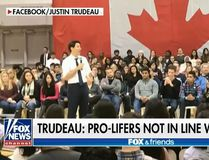 In this screenshot, a segment of Fox & Friends on Jan. 15, 2018 discusses comments made by Prime Minister Justin Trudeau on his decision to withhold summer jobs grant funding to pro-life organizations. (Screenshot/Fox News)
