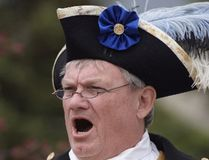Brian Mabee, in his town crier togs, is a new township councillor. (FILE PHOTO)