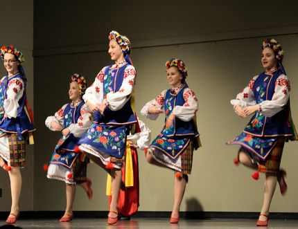 """""""This year it was another sold out crowd at the Vermilion Regional Centre. Tickets for the dinner sold out. Our next major fundraiser is the upcoming Ukrainian dance festival on April 20-22 at Lakeland College,"""" said Jason Stelmaschuk """"Malanka is so much more than food and dance. It is about celebrating the Ukrainian heritage in this community. It is about the bringing together of family and friends. We had a great turnout; everyone had lots of fun."""""""