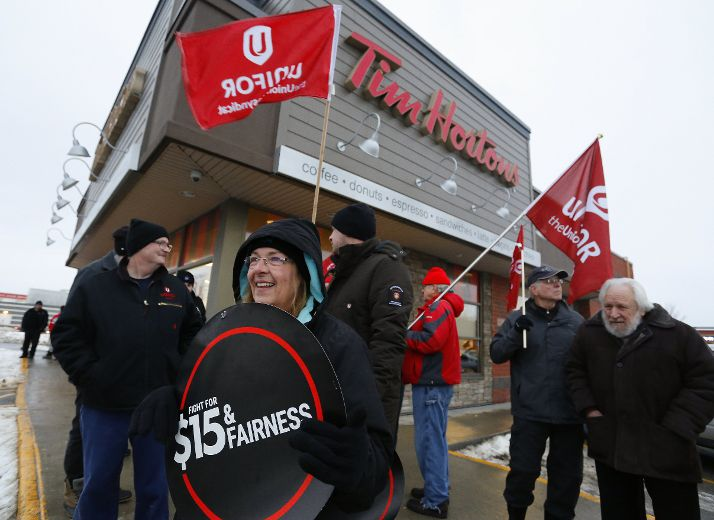 Protests planned for 50 Tim Hortons locations across Canada