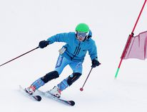 A skier takes part in the high school alpine training session at Adanac Ski Hill in Sudbury, Ont. on Thursday January 18, 2018. About ninety skiers and snowboarders from ten area high schools made their way to Adanac for the first in a series of training sessions as the ski season kicks off.Gino Donato/Sudbury Star/Postmedia Network
