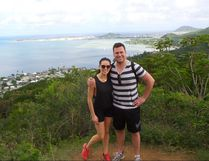 Albertans Denis Hudson and his wife Ashley saw their honeymoon in Hawaii interrupted by an incoming missile alert.