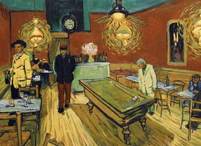 A scene from Loving Vincent, an animated biopic on the life of renowned Dutch post-impressionist Vincent Van Gogh. cineSarnia will be screening the film at the Sarnia Public Library Theatre on Jan. 28 and Jan. 29. Handout/Sarnia This Week