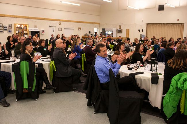 The Whitecourt Chamber of Commerce holds a gathering (File Photo).