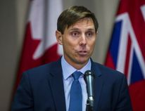 Leader of the Ontario PC party Patrick Brown addresses allegations against him at Queen's Park in Toronto, Ont. on Wednesday January 24, 2018. Ernest Doroszuk/Toronto Sun/Postmedia Network