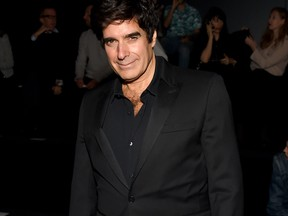 David Copperfield attends Rochambeau fashion show during New York Fashion Week: The Shows at Gallery 1, Skylight Clarkson Sq on September 10, 2017 in New York City. (Photo by Nicholas Hunt/Getty Images For NYFW: The Shows)