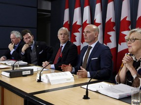 In this file photo, NDP MP Nathan Cullen speaks during a news conference in Ottawa on Thursday, Decemeber 1, 2016. Fred Chartrand / THE CANADIAN PRESS