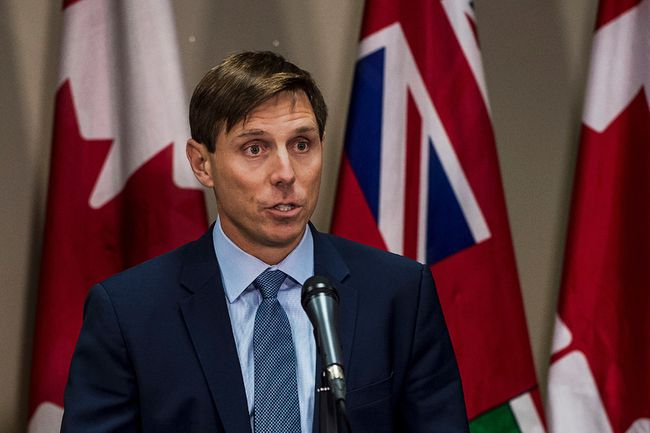 Patrick Brown resigned as leader of the Ontario PC party. (The Canadian Press)