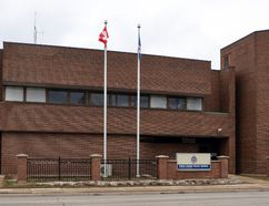The Owen Sound Police Service station in Owen Sound. DENIS LANGLOIS/THE SUN TIMES