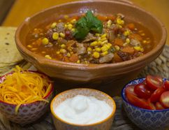 Mexican Chicken Chipotle Stew. (DEREK RUTTAN, The London Free Press)