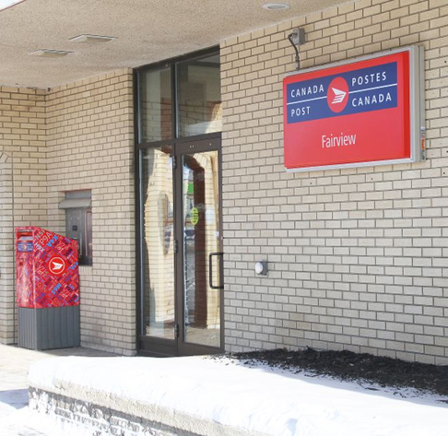 Canada Post, Fairview, entrance