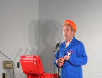 Jimmy the Janitor performed at a Fundraising concert for the Fairview Fire and Rescue Society at Dunvegan Inn Jan. 27.