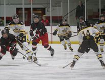 The Bow Valley Timberwolves bantam AA team are playing better hockey and are now 10-14-1 on the season after a physical and strong game that resulted in a 4-2 win over second-place Olds.