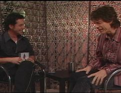 Bill Welychka loves even doing the notoriously tough interviews like Mick Jagger and Oasis's Liam Gallagher. Photo courtesy Bill Welychka.