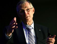 Ed Clark, who for the better part of a decade oversaw London-based Canada Trust, soon will take over as chairperson of the Liquor Control Board of Ontario, which includes setting up legal cannabis stores. (Files)