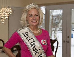 Marie Clark of Brantford won the title of Mrs. Classic World at the Mrs. Universe Classic competition in Bulgaria on January 22. Brian Thompson/Brantford Expositor