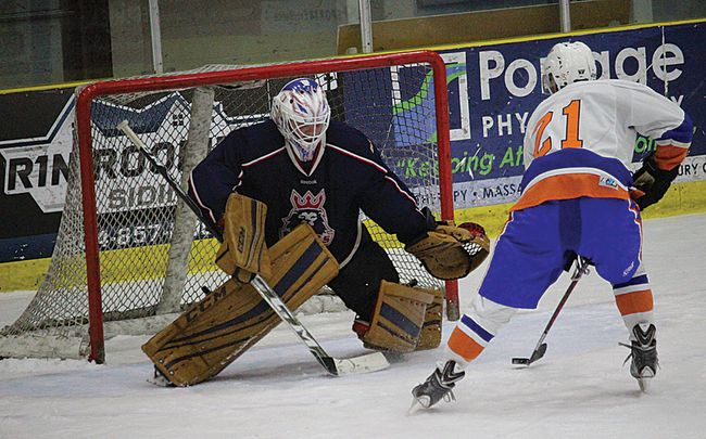 The Portage Islanders lost to Morden Sunday night in South Eastern Manitoba Hockey League action at Stride Place in Portage. They dropped a spot in the standings because of it. (file photo)