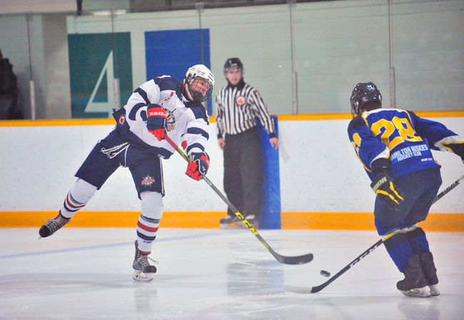 Due to a suspension stemming from an incident in the regular season finale Sunday, the Port Dover Sailors will be without forward Lyndon LeMoire to begin their first round PJHL Bloomfield Division series against Niagara. JACOB ROBINSON/Simcoe Reformer