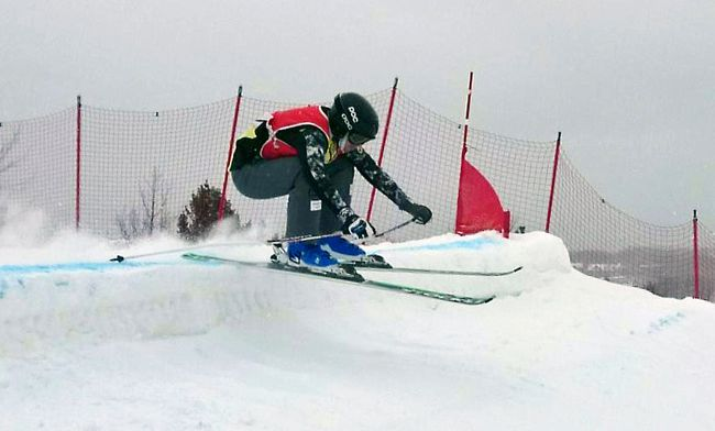 North Bay's Elite Alpine Ski Cross competed at the FIS/Nor-Am track at Craigleith Resort in Collingwood this past weekend. Supplied Photo
