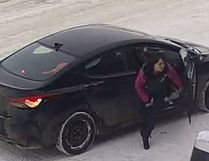 Blackfalds RCMP are searching for a female suspect who stole a pick up truck on Airport Drive in Springbrook. (Photo submitted)