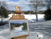 An exhibition featuring Impressionistic artist Christy A. Smith, of Friends of Killarney Park (FOKP), and emerging Artist Lydia Gaudreau will be at Artists on Elgin for the month of March. Supplied photo