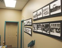 The Nanton Thelma Fanning Memorial Library is working on constructing a gallery of historical photos in the foyer. Stephen Tipper Nanton News