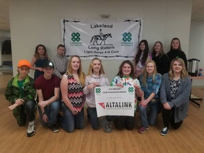 Twelve members of the Lakeland Long Riders Light 4-H Club had an opportunity to practice their public speaking skills on Jan. 28.