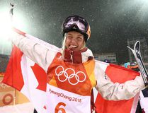Justine Dufour-Lapointe returned to the medal podium in women's moguls. (Jean Levac / Postmedia Network)