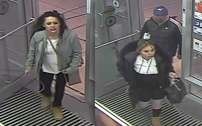 Kingston Police are looking for the public's help in locating a trio of fragrance theft suspects.