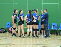 The Senior Volleyball team (pictured here) finished in fourth place, which is the highest finish for the GDCI Seniors in the past six years. The Junior Volleyball team finish the season with a record of 8 and 2, and in third place. The Junior Volleyball team was undefeated against other 'A' schools and have qualified for WOSSAA in two weeks. (Kathleen Smith/Goderich Signal Star)