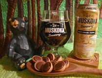 Salty Caramel Truffle is Muskoka's ice cream that might be confused with beer. It's a flavour collaboration with fellow cottage country company Kawartha Dairy. (BARBARA TAYLOR /The London Free Press)