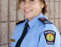 Crystal Lavigne is the new special constable at Hanover Police Service.