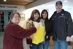 The Sanders family won the 2017 Family Day scavenger hunt hosted by Annandale National Historic Site. This year ANHS has planned a game of 'I Spy' at the museum on Family Day. Chris Abbott/File Photo