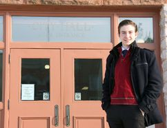 Stratford student Gabriel Edwards says he's been interested in politics since he was in Grade 4. Now he's making a push for the city to create a youth council, so Stratford youth have a say in the future of the city. (JONATHAN JUHA, Beacon Herald)