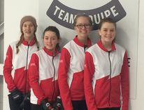 Zoe Cinnamon, Justine Hagey, Elspeth Cooper, and Raelyn Helston will all be competing with their mixed partner at the Alberta Winter Games.