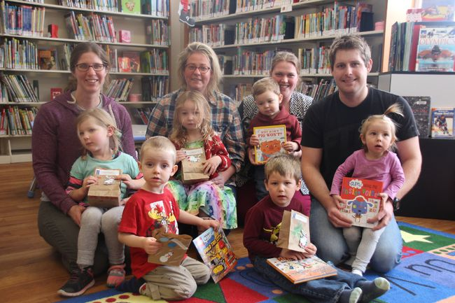 <p>Members of the Ingleside library's preschool story time group came out with their parents to draw the names of winners, on Wednesday February 14, 2018 in Ingleside, Ont. </p><p> Alan S. Hale/Cornwall Standard-Freeholder/Postmedia Network