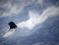 A skier enjoys the superb conditions on a run called Brown Shirt at Lake Louise. Al Charest/ Postmedia Network