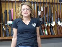 Amanda Hare, the owner/operator of Oley's Armoury in Powassan, will be a featured panelist at the Toronto Sportsmen's Show March 15. The panel is being organized by Amanda Lynn Mayhew, host of the Just Hunt TV show. Supplied Photo