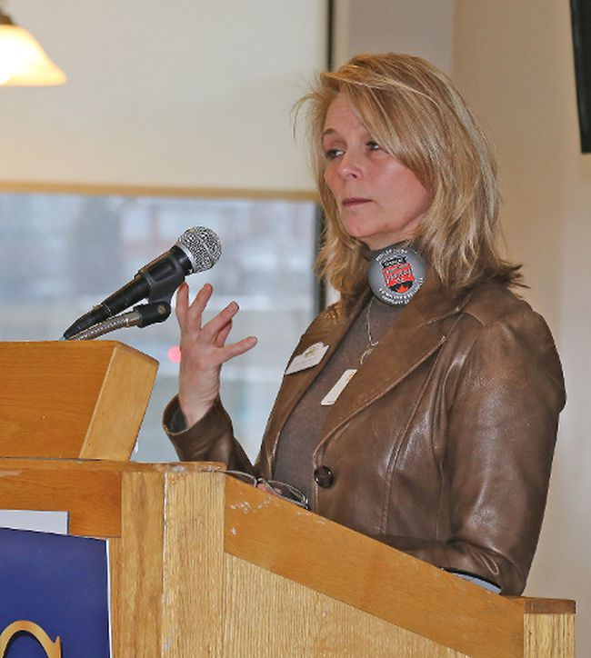 INTELLIGENCER FILE PHOTO Belleville & District Chamber of Commerce CEO Jill Raycroft.
