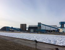 Close to 50 miners were laid off from the Goderich Mine today. (Kathleen Smith/Goderich Signal Star)