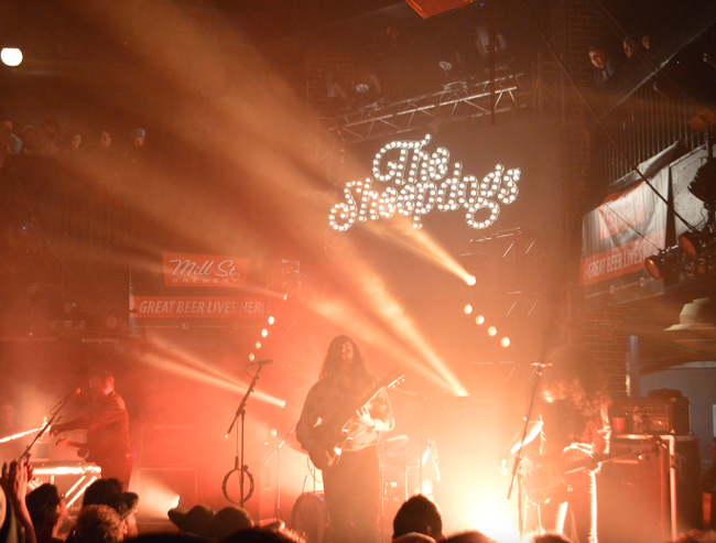 Saskatoon classic rockers The Sheepdogs played Union Hall on Feb. 20. Their new album Changing Colours came out earlier this month and one of their singles is already atop the Canadian Billboard charts.
