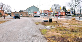 Norfolk County has opted not to purchase this lot on the corner of Main and Chapman streets in Port Dover. JACOB ROBINSON/Simcoe Reformer