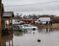 Local officials near the town of Orangeville, Ont., were bracing for tragedy as they scoured the swollen river for a three-year-old boy who went missing after the car he was riding in got swept off a washed-out road.