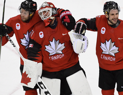 Kevin Poulin has taken over as No. 1 goalie for the Canadian men's Olympic hockey team.