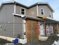 Progress on the Good Shepherd Legacy Project moves forward, despite the bad weather conditions that caused Habitat for Humanity Kingston Limestone Region to push back the dedication date for the first home.