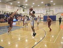 The Bert Church Chargers finished the season 4-1 after an impressive 74-68 win at home on Feb. 14 against the Cochrane High Cobras, who suffered their first loss in league play and fell to 4-1. Playoffs are next for both teams.