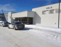 This was the scene Wednesday afternoon outside of the Kapuskasing Public Education Centre, which houses Kapuskasing District High School, École Publique Secondaire Écho du Nord and Diamond Jubilee Public School. Kevin Anderson/The Northern Times/Postmedia Network