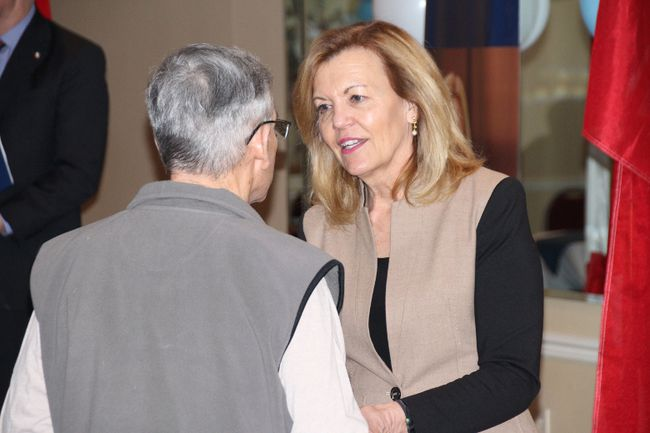 <p>PC Party of Ontario leadership candidate Christine Elliott took some time to meet with local party members and supporters at a lunch meeting on Wednesday February 28, 2018 in Cornwall, Ont. </p><p>