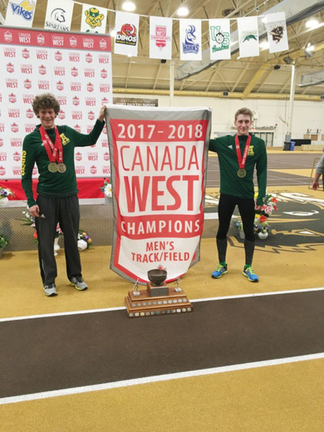 Wesley and Brendan Calef performed well at the 2018 Canada West Track and Field Championships in Manitoba with both walking away with first place finishes.