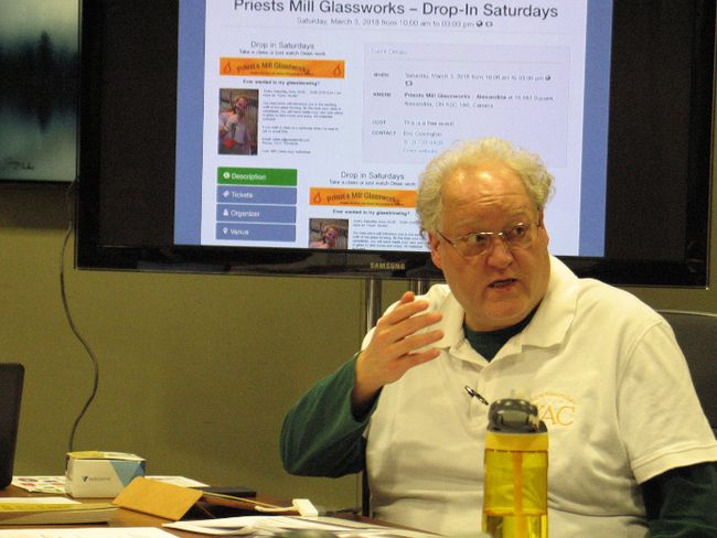 <p>Richard Salem, the YAC facilitator, at the annual general meeting on Tuesday, February 27, 2018, in Cornwall, Ont. </p><p>